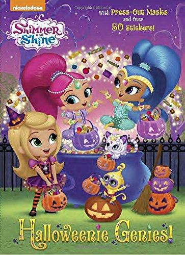 Halloweenie Genies! (Color Plus Cardstock and Stickers)