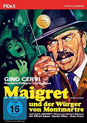 Bild von Maigret und der Würger von Montmartre (Maigret a Pigalle) / Packende und mit dem Prädikat WERTVOLL ausgezeichnete Maigret-Verfilmung mit Gino Cervi (Pidax Film-Klassiker)