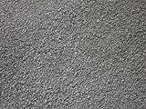 Der Naturstein Garten 25 kg Schwarz/Anthrazit Basaltsplitt 2-5 mm - Basalt Splitt Edelsplitt Lava Lavastein - LIEFERUNG KOSTENLOS
