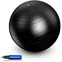 JBM Exercise Ball Yoga Ball with Air Pump Anti-Burst Slip-Resistant Yoga Balance Stability Swiss Ball for Pilates…
