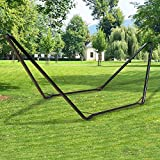 #9: Inditradition Universal Multi-Use Heavy-Duty Steel Hammock Stand | Fits Hammocks 9 to 14 Feet Long, 150 KG Load Capacity (Black)