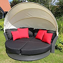Destiny Loungegruppe Key Largo Lounge Insel Sonneninsel Sofaset Vario Sofainsel