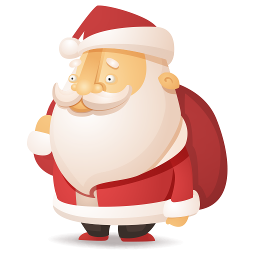 Santa Jungle Run (Outfit Santa Clause)