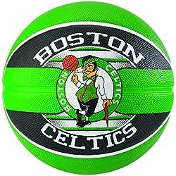 Spalding NBA Team Boston Celtics 83-505Z Balón de Baloncesto, Unisex, Multicolor, 7