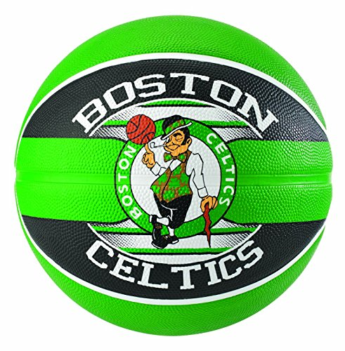 Spalding NBA Team Boston Celtics 83-505Z Balón de Baloncesto, Unisex, Multicolor, 7