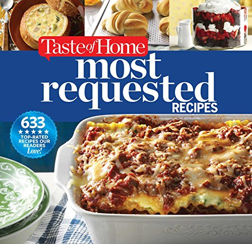 Digest Best Books Readers Loved (Taste of Home Most Requested Recipes: 633 Top-Rated Recipes Our Readers Love!)