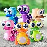 Hilai Uhrwerk Spielzeug (Farbe Mai variieren) Wind Up Tier Party Favors Spielzeug großes Geschenk für Jungen Mädchen Kinder Kleinkinder