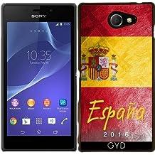 Funda para Sony Xperia M2 - Bandera De España by Julien Kaltnecker