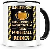 Samunshi® Football Tasse mit Spruch Geschenk für Football Fans Männer Kaffeetasse groß Lustige Tassen zum Geburtstag…
