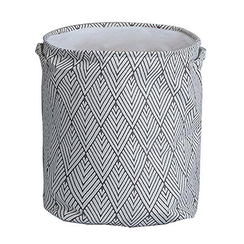 FengHui Plaid Design Haushalts Organizer Waschkorb Schmutzige Kleidung Lagerung Eimer Wäschekorb 4 Faltbare Stoff Baskets