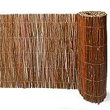 Weidenmatte 300 x 50 cm Weidenzaun, Naturzaun, Winterschutz, Pflanzkübelverkleidung, 1A Qualität aus Europa