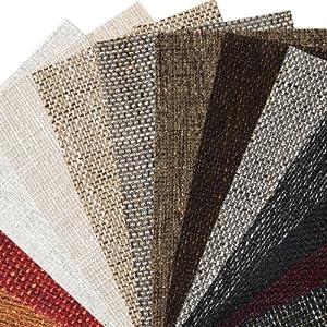 Magma Chenille grob gewebter Struktur Polster Möbel Bezugsstoff Meterware Melange Premium Gewebe Cappucino