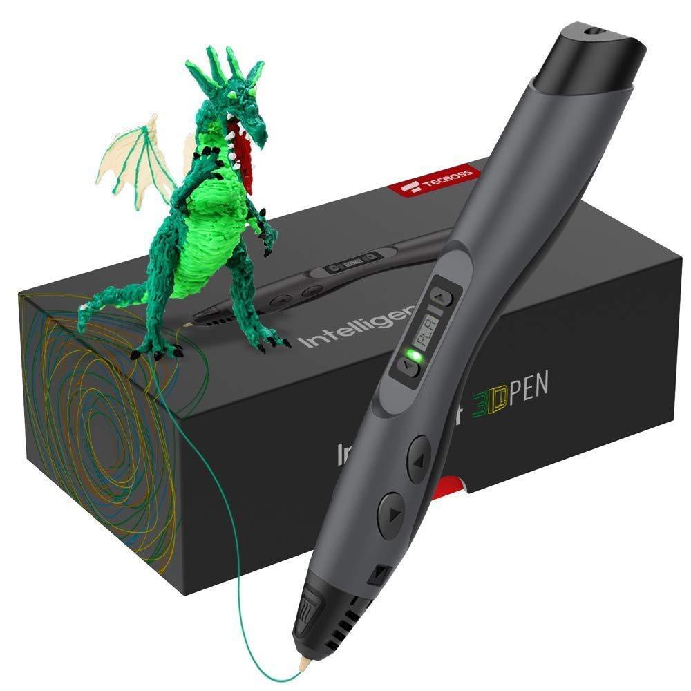 Stylo 3D, Tecboss 3D Pen Créatif Avec Écran LCD