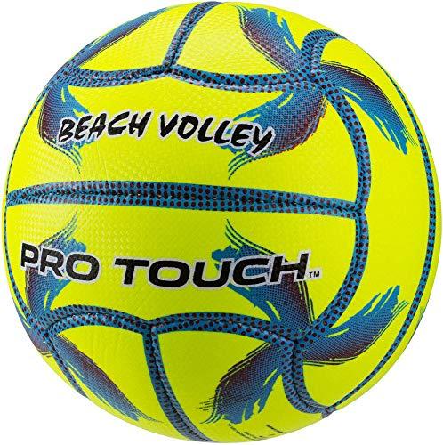 Pro Touch Top IDE Beach Volleyball Ball, Gelb/Blau/Lila, 5 (Beach-volleyball Pro)