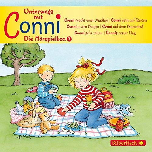 Unterwegs mit Conni - Die Hörspielbox (Meine Freundin Conni - ab 3 ): 3 CDs