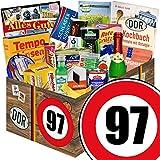 Spezialtiäten Geschenkset | DDR Box | Zahl 97 | Geschenk Korb Oma