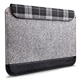 Inateck 13,3 Zoll Macbook Air/ Pro Retina Sleeve Hülle Ultrabook Laptop Tasche Speziell für 13,3 Apple Macbook Pro Retina und Macbook Air, Grau