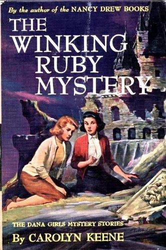Dana Girls 19 Winking Ruby Mystery (Girl Winking)