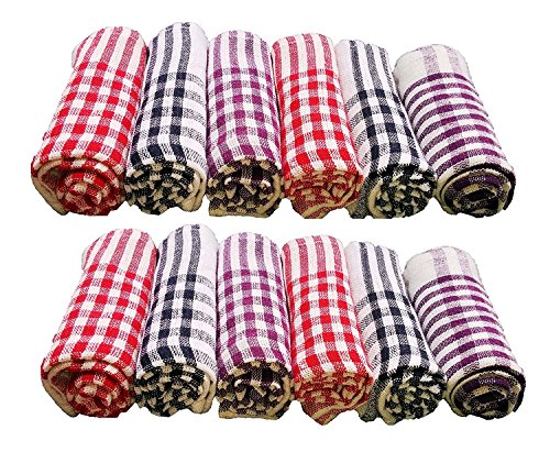 SHOPEE BRANDED Cotton Cleaning Cloth Multipurpose Kitchen Napkin Table Wipe 6pcs set...