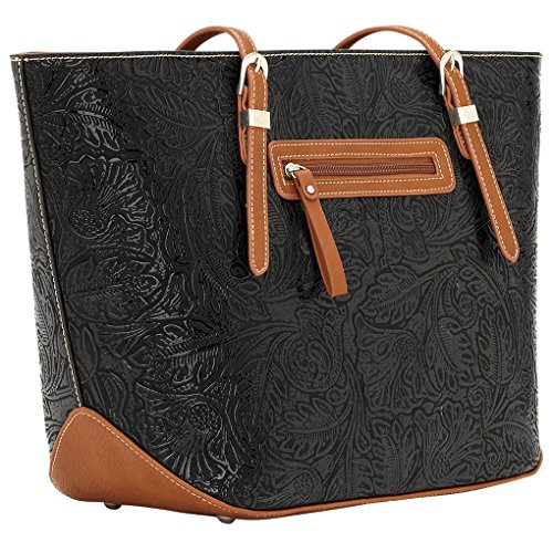 Banadana From American West  Êtop-handle Bags, Sac femme Brown Dallas