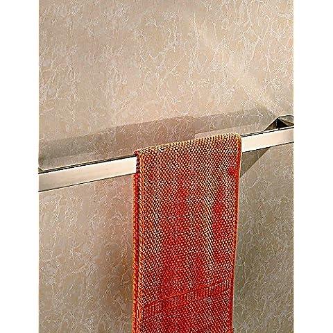 Bagno montato a parete in acciaio inox lucidato a specchio quadrato singolo assorbente Bar