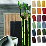 sander SPARSET 4 Tischsets BAMBOO 33x48cm Bambus Farbe wählbar (08 - braun)