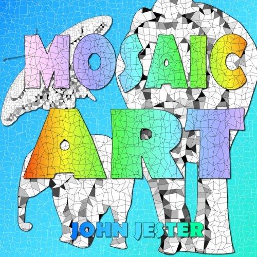 Mosaic Art: An Adult Colouring book
