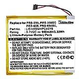 Akku-King Akku ersetzt Sony LIS1459MHPC9SY6 1-853-016-11 - Li-Polymer 900mAh - für Reader eBook PRS350, PRS350SC