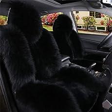 Klicop Autositzbezüge Winter Stuhl Warme Autositze Abdeckung Faux Wolle Auto Auto-Styling Waren EIN Pcs Komfortabler langlebiger Sitz (Farbe : C4)