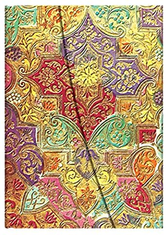 Paperblanks Papier BrocartPB709-9 Carnet de note Ligné Ultra Multicolore