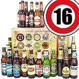 Geschenke zum 16. Hochzeitstag - Bier Box - Bier aus der Welt 24x