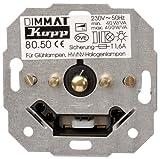 Kopp 805000188 - Modulo dimmer tattile (regolazione graduale) a bilanciere, da incasso