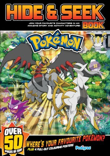Pokemon Hide and Seek Book Summer 2010 by Pedigree Books Ltd (3-May-2010) Paperback
