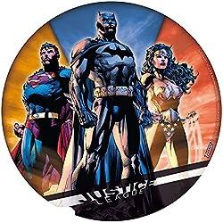 DC Comics–Justice League–Ratón–Alfombrilla para ratón–Batman–Superman–Wonder Woman–21,5cm