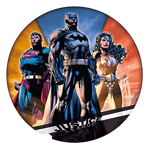 Preisvergleich Produktbild DC Comics - Justice League - Mausmatte Mauspad - Batman - Superman - Wonder Woman - 21,5 cm