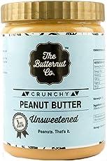 The Butternut Co. Unsweetened Peanut Butter - Crunchy (1 KG)
