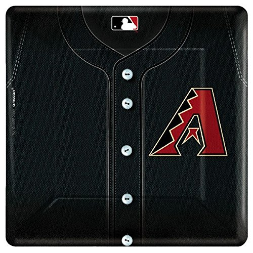 Arizona Diamondbacks Baseball - Square Banquet Dinner Plates Party Accessory