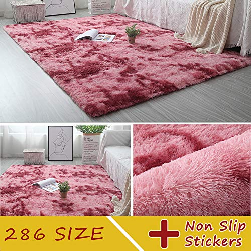 MODKOY Lanas alfombras Lavable Tejidas Shaggy Ultra