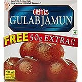 Gits Instant Gulab Jamun Dessert Mix, 200g with Free 50g