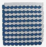 1,2m²-3-Sets Mini Dachschindeln,Blau,Dachpappe,Briefkasten,Vogelhäuser,Sandkastenüberdachung,Abdeckung,Bastlersatz,Biberschwanz,Nistkasten