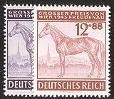 Goldhahn Deutsches Reich Nr. 857-858