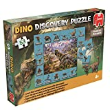 Jumbo Spiele 19294 - Discovery Puzzle Dinosaurier 53 Teile