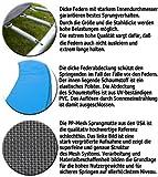 Terena Gartentrampolin 183 cm inkl. Sicherheitsnetz – Blau - 7