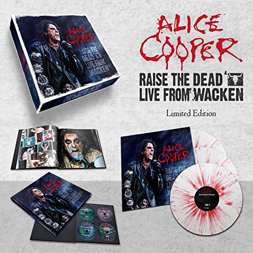 Raise the Dead -Live from Wacken (6 DVD Audio)