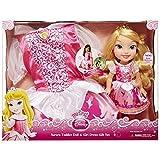Jakks Pacific 77029 Ariel-Disney Princess Puppe und Toddler Dress Geschenk Set