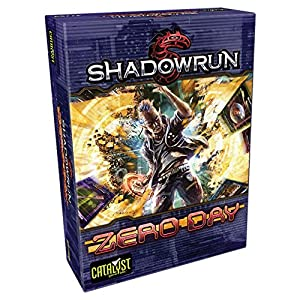 Catalyst Game Labs cat27760-Juego de Cartas Shadow Run: Zero Day