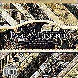 Carta Scrapbooking Album Fogli Decorativi Fogli Scrapbooking Paper Cartoncini Fanrasia DIY Carta Decorativa per Lavorazione Artigianale 7x7 pollici Carta per Fai Da Te 17,5*17,5cm 40pz