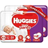 Huggies Wonder Pants, Extra Small Size Diapers Combo Pack of 2, 24 Counts Per Pack, 48 Counts