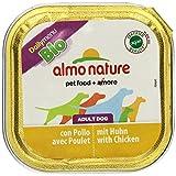 Almo Nature Daily Menu Bio Hundefutter, Huhn, 32 Schalen (32 x 100 g)