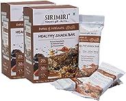 SIRIMIRI Nutrition Bar - Dates & Walnuts - Pack of 12 (Each 40 gm)